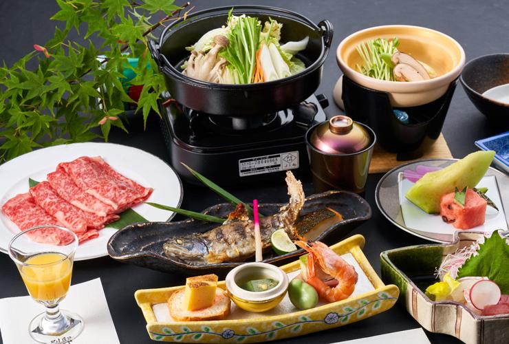 Sukiyaki Kaiseki