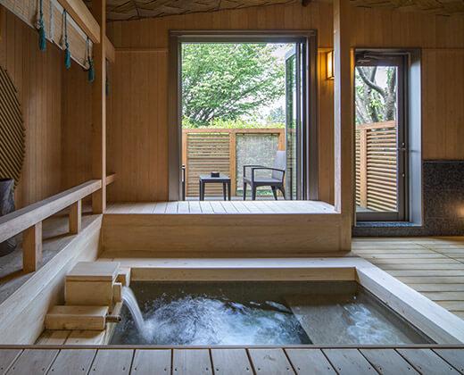 Noh Stage Bath